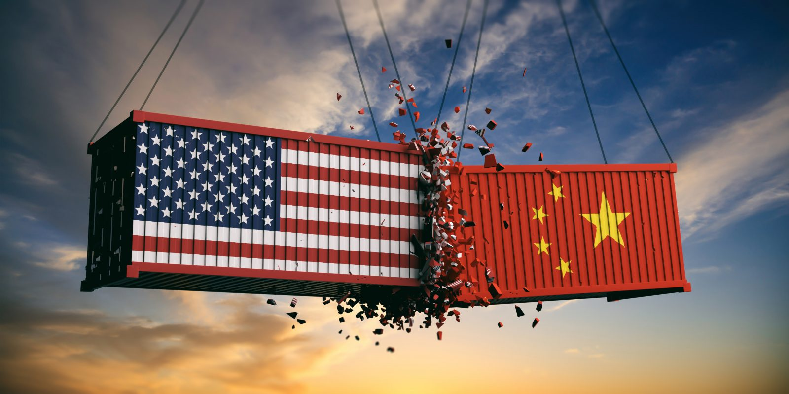Trade tensions between the United States and China