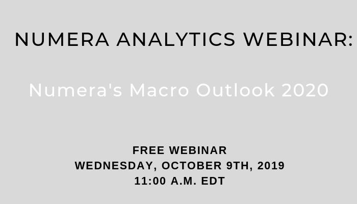 Webinar – Numera's Macro Outlook 2020